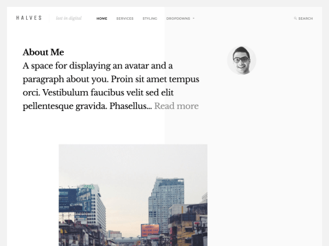 A well designed, blogging theme with multiple layouts and theme options.