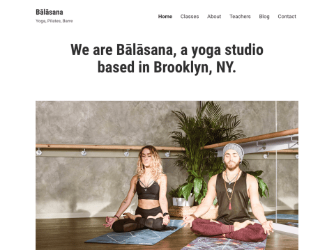 Balasana is a clean and minimalist business theme designed with health and wellness-focused sites in mind.