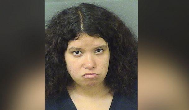 PHOTO: A mugshot of Miranda Perez in Palm Beach County, Fla, Aug. 2019. (Palm Beach County Sheriff's Office)