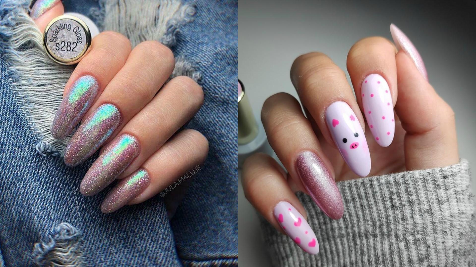 Odswiezony French Milky Nails I Kosmiczne Wzory Oto