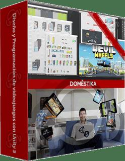 Domestika: Curso Diseño y Programación de videojuegos con Unity 5 (2016)