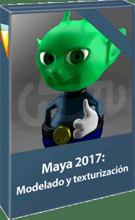 Video2Brain: Curso Maya 2017: Modelado y texturización (2017)