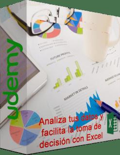 Udemy: Analiza tus datos y facilita la toma de decisión con Excel (2015)