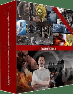 Domestika: Curso Integración de elementos 3D mediante técnicas de VFX (2016)