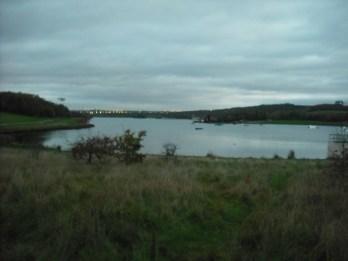 View from southern end, near waterski lake