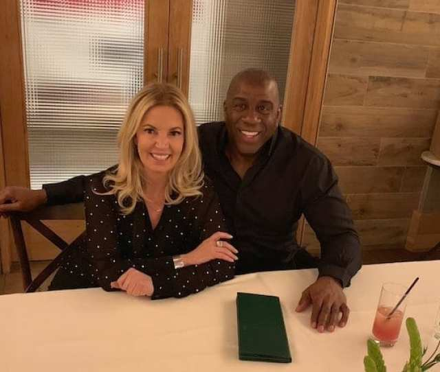 Lakers Rumors Jeanie Buss Magic Johnson Have Remained In Regular Contact Since His Resignation