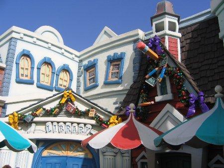 Toontown Library Walt Disney