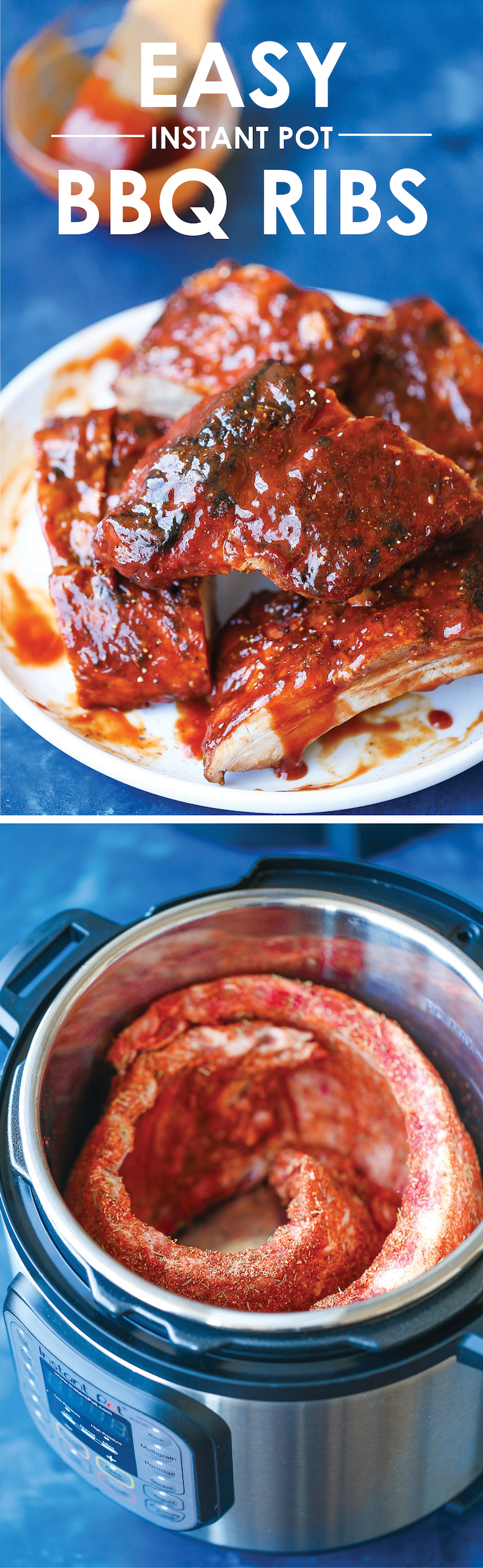 Easy Instant Pot BBQ Ribs