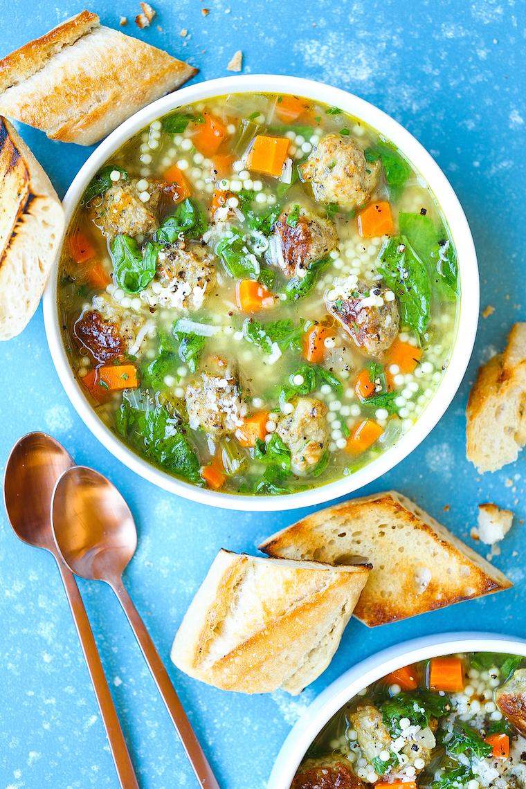 Italian Wedding Soup Recipes.Italian Wedding Soup