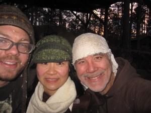 Matt, Midori and Joe Bruhin