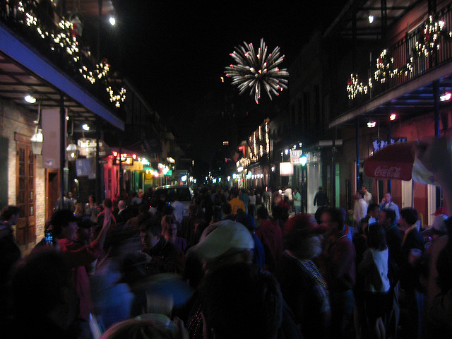 The Best Places to Celebrate New Year s Eve in New Orleans New Year s Eve fireworks from the streets of the French Quarter