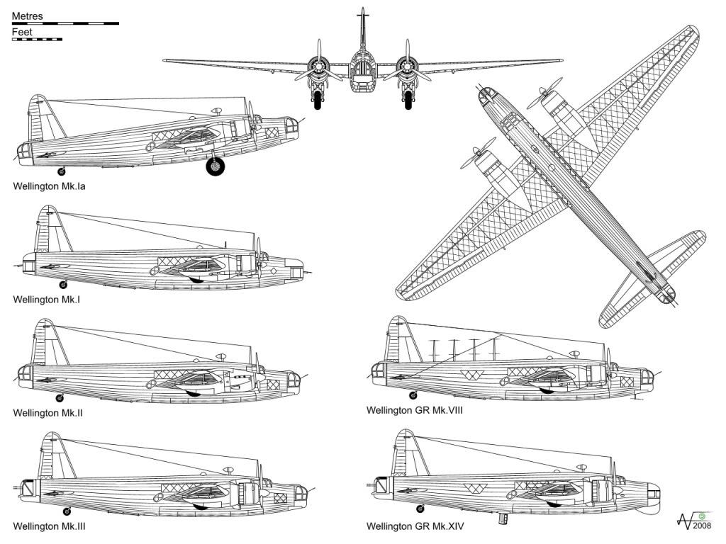 Vickers Wellingtonardero Medio