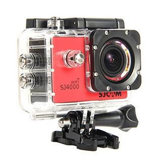 Sjcam Sj4000 Wifi 1080P 12Mp Car Bike Helmet Cam Sports Dv Action Waterproof Camera Red