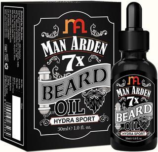 Man Arden 7X Beard Oil 30ml (Hydra Sport) - 7 Premium Oils For Beard Growth & Nourishment , best beard oil in India flipkart
