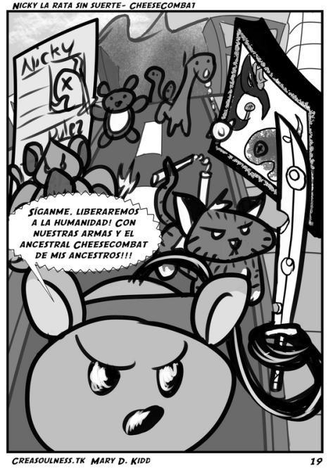 Nicky rata sin suerte comic P.19