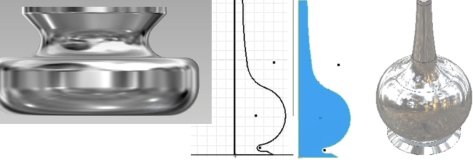 Autodesk Inventor piezas
