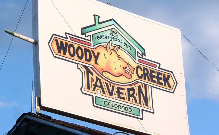 woody creek tavern