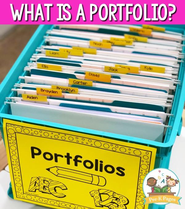 Preschool Portfolio Ideas Pre K Pages