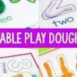 Play Dough Mats for Preschool