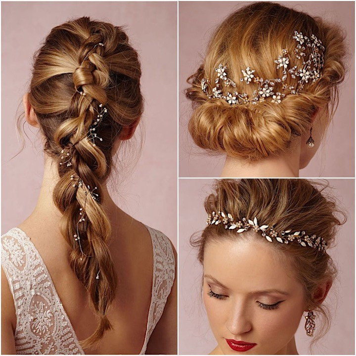 bhldn bridal hair accessories collage 101315mc