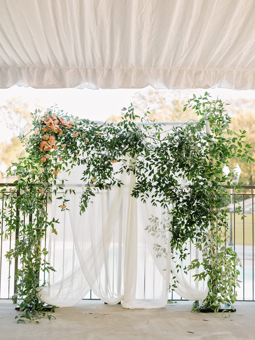 Classic Chic Southern Wedding with a Whimsical Color Scheme