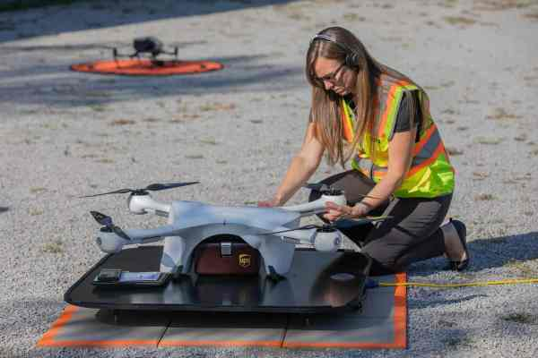 UPS expands drone, other operations for healthcare companies; broadens e-commerce reach for smaller businesses - FreightWaves