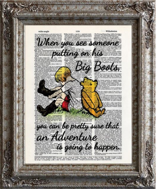 35 Winnie The Pooh Quotes for Every Facet of Life   Book Riot Buy on Etsy