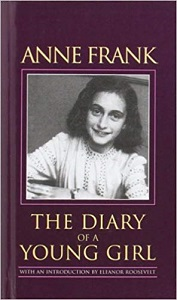 The Diary of a Young Girl by Anne Frank Book Cover