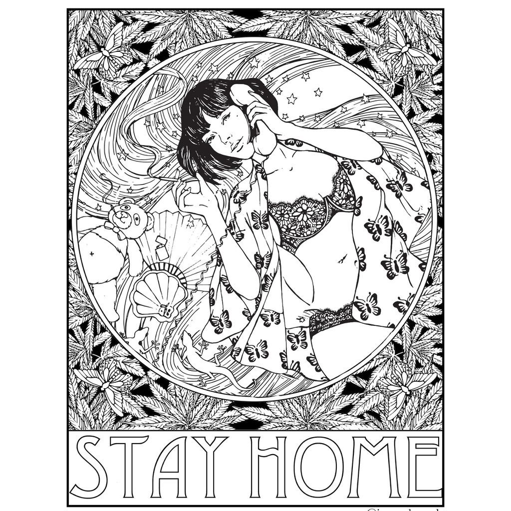 These Artists Are Making Free Coloring Pages For You To Enjoy