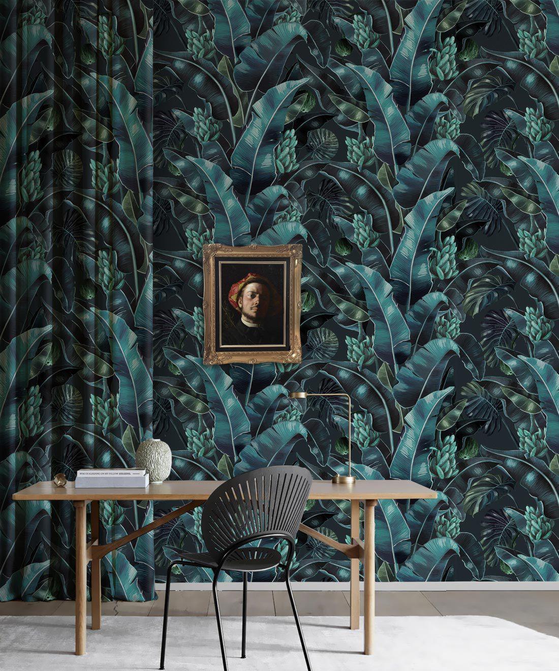Kingdom Palm Wallpaper Lush Tropical Design Milton King