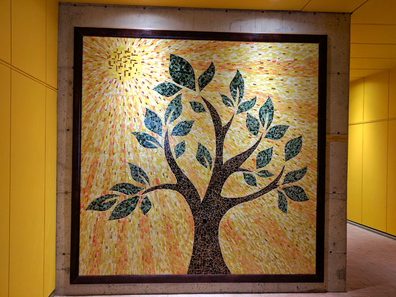Community mosaic completed