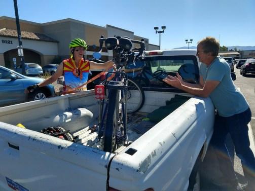 3.30 Scott Spencer bike in pickup
