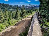 donner pass summit tunnel hike 10-3