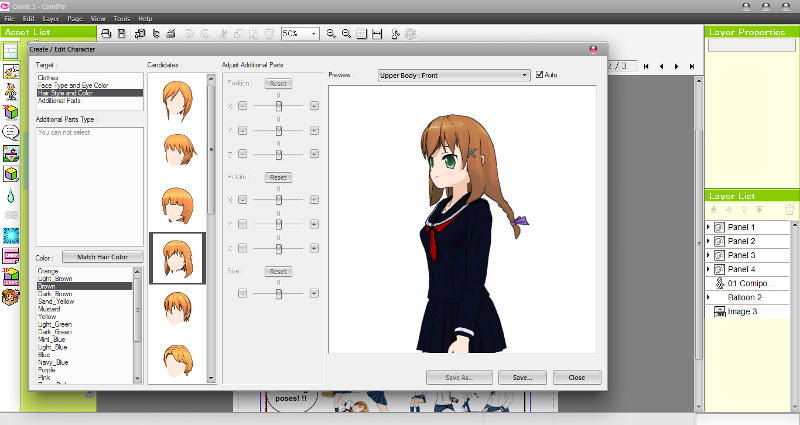 create a character online anime dating