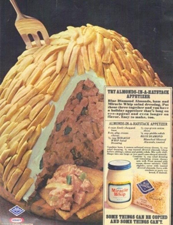 這是一個杏仁醬的廣告