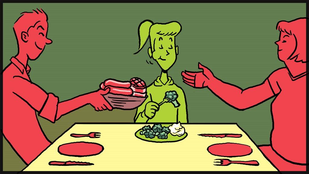 健康面面觀,素食者的營養及飲食怎麼吃?