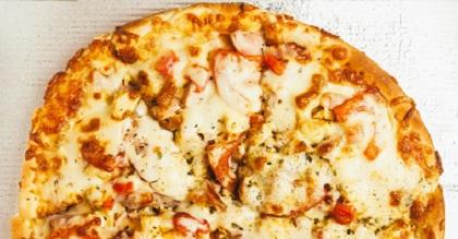 美食第二彈!芳提娜焦糖洋蔥燻培根披薩