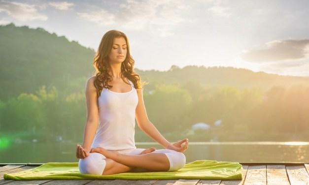 炎夏消暑瑜珈處方