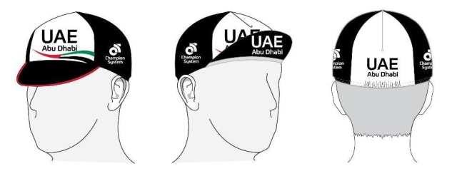ユーロキャップ/ UAE team Emirates UCIプロチーム2017モデル