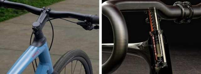 """""""石畳の王者""""たるロードバイク「Roubaix」に搭載されるFuture Shockがクロスバイクにも。(Future Shock 2.0/1.5とグレードがあり、クロスバイクに搭載されるのは1.5)"""