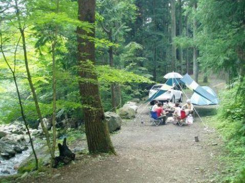 志村 女の子 道 キャンプ