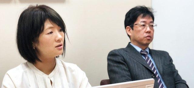 真剣な表情で話す松山さん