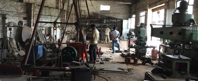 ネパールの地元企業との連携も始まった=茨城製作所提供