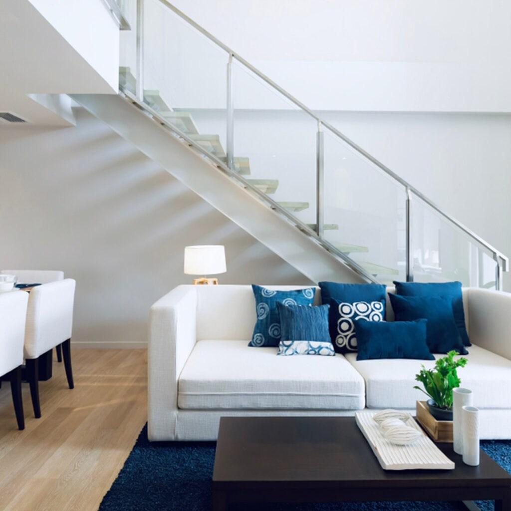 Beautiful Duplex House Interior Design In India Design Cafe   Staircase Design For Duplex   Unique   Wood   Space   False Ceiling   Contemporary