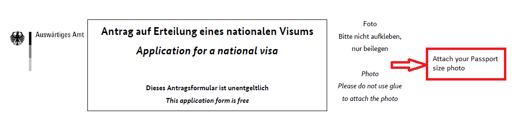 German Student Visa - MS in Germany