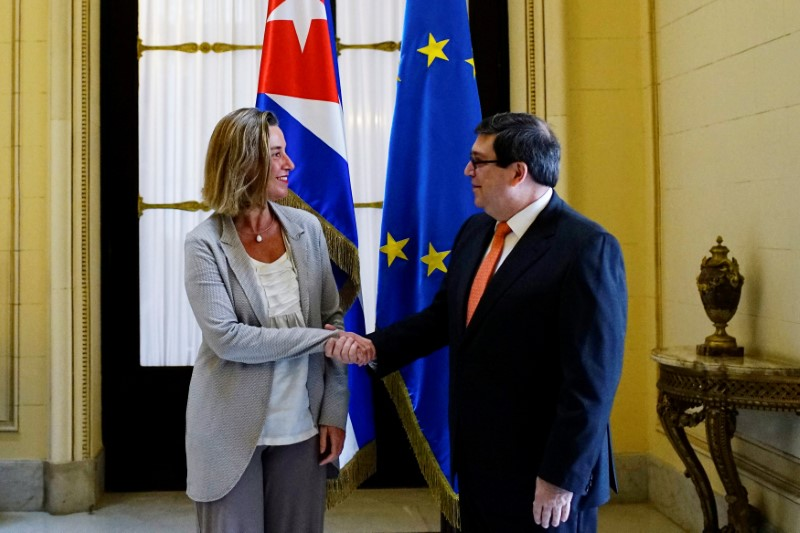 High-Ranking EU Official Begins Visit to Cuba