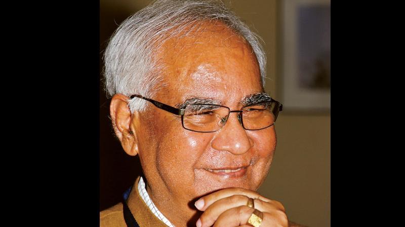 Baldev Raj (1947-2018). Credit: PTI