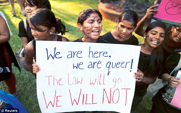 Ever since the Delhi high court decriminalised gay sex in 2009, Section 377 has undergone many twists and turns. Credit: Reuters