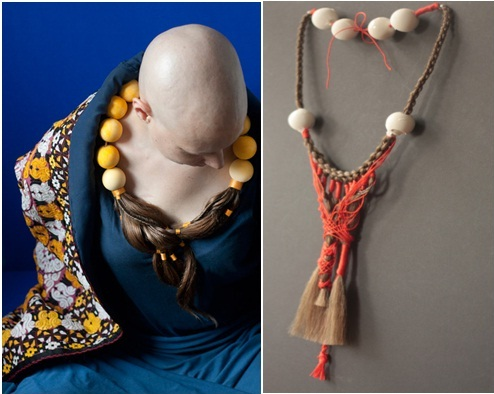 jewelryfor cancer patients from their own hair
