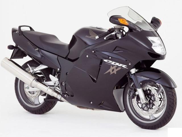 Fastest Motorcycle-Honda CBR1100XX Blackbird, 190 mph